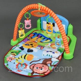 Продам детский развивающий коврик. Новомосковск. фото 1
