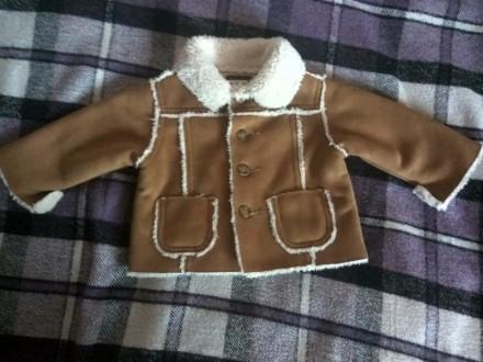 Куртка на меху baby gap,на 3 мес.. Новогродовка. фото 1