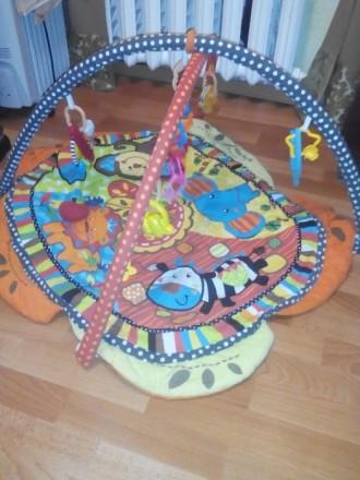 Коврик Baby Mix Сафари развивающий в отл. состоянии, игрушка в подарок. Днепр. фото 1