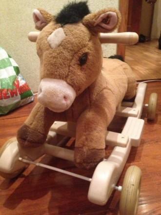 Продам лошадь качалка- каталка. Кривой Рог. фото 1