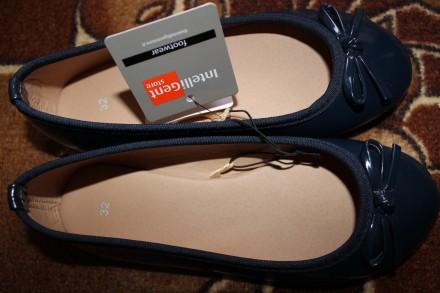 Нові балетки Inteligent,туфли. Тернопіль. фото 1