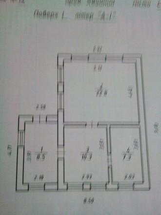 Дом высокий, кирпичный, на 2 комнаты в которых сделан ремонт, окна пластик, кухн. Сумы, Сумская область. фото 2