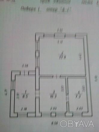 Дом высокий, кирпичный, на 2 комнаты в которых сделан ремонт, окна пластик, кухн. Сумы, Сумская область. фото 1