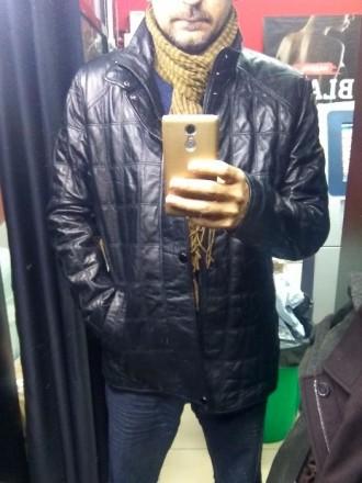 a349038369e Вашему вниманию предлагается стильная кожаная куртка от итальянского бренда  Punt. Киев