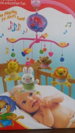 Музыкальная карусель, игрушка, мобиль