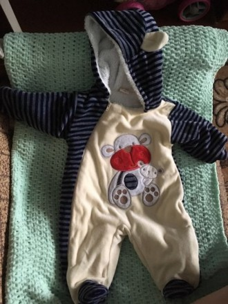 Продам теплий дитячий комбінезон. Кам'янець-Подільський. фото 1
