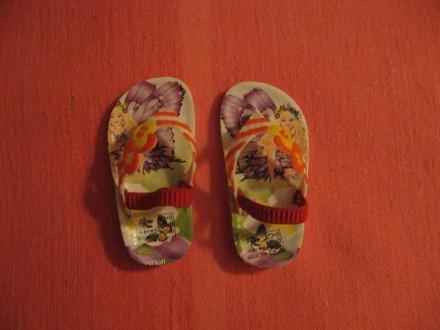 Вьетнамки в принт для девочки, 17 р. Черноморск (Ильичевск). фото 1