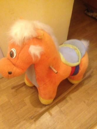 Продам детскую лошадь качалку. Днепр. фото 1