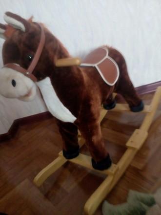 Лошадь-качалка. Каменское. фото 1