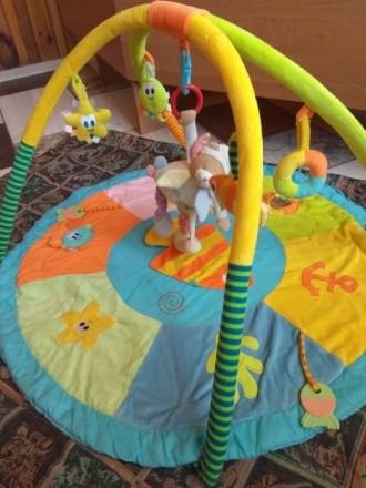 Детский развивающий коврик. Ватутино. фото 1