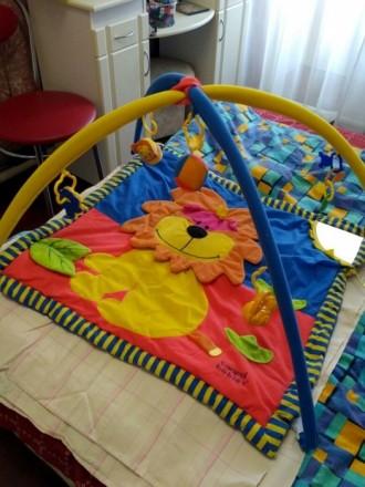 Развивающий коврик. Кролевец. фото 1