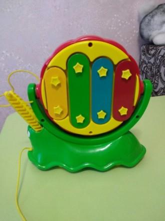 Ксилофон-барабан-каталка. Днепр. фото 1
