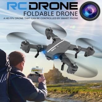 Квадрокоптер RC Drone WI-FI-камера+Led-подсветка. Киев. фото 1