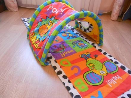 Развивающий коврик Playgro Туннель для младенца. Каменское. фото 1