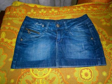 Юбка джинсовая. Чугуев. фото 1