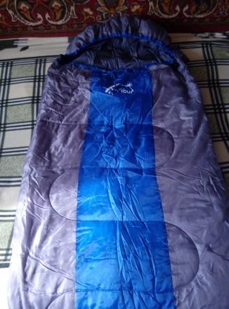 Спальный мешок Wind Tour-46 новый, размер 215х75 с капюшоном, недорого 1000 грн. Купянск. фото 1