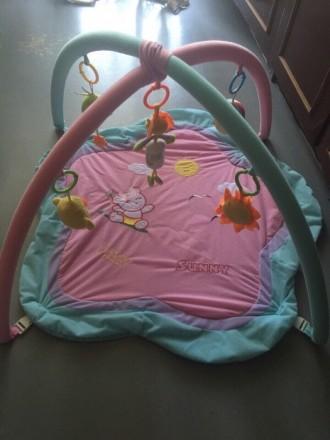 Развивающий Детский коврик. Никополь. фото 1