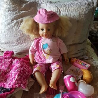 Продам интерактивную куклу Zapf Creation. Днепр. фото 1