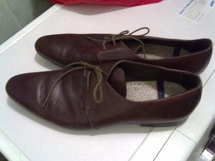 Туфли кожаные, размер 45. Харьков. фото 1