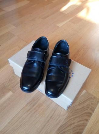Туфли кожаные школьные на мальчика 28 р.. Киев. фото 1