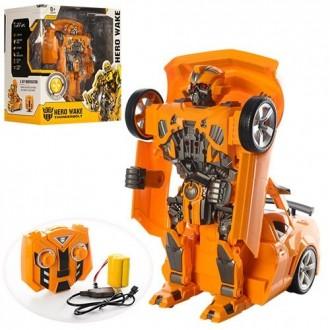 Трансформер робот на радиоуправлении 28168 Бамблби. Днепр. фото 1