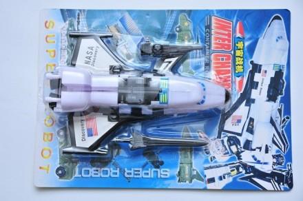 Трансформер робот космический корабль шаттл новый. Днепр. фото 1