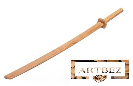 Деревянная катана. Игрушки для детей из дерева.. Днепр. фото 1