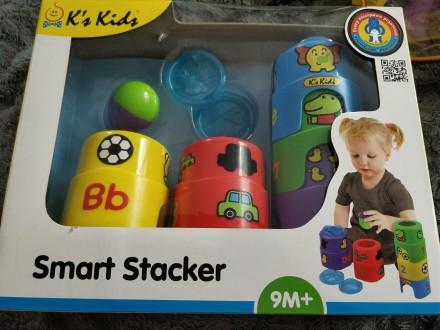 Пирамидка Ks Kids Smart Stacker. Киев. фото 1