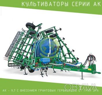 Культиваторы серии АК – 9,7 — универсальные, широко захватные, предназначены для. Гадяч, Полтавская область. фото 1
