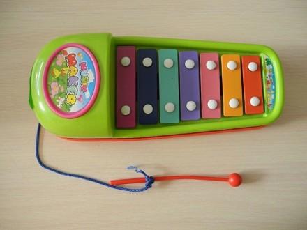Металлофон детский игрушечный. Луганск. фото 1