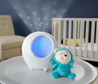 Детский Ночник проектор Звёздные сны 2в1 Fisher Price DYW48. Киев. фото 1