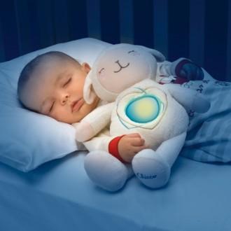 Ночник игрушка любимая овечка развивающая мягкая Chicco 60048. Киев. фото 1