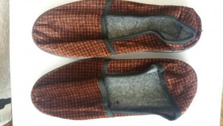 Тапки мужские, спецобувь текстильная. Винница. фото 1