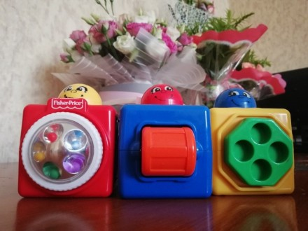 Кубики Fisher price. Черновцы. фото 1
