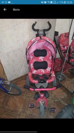 Детский велосипед для девочки. Павлоград. фото 1