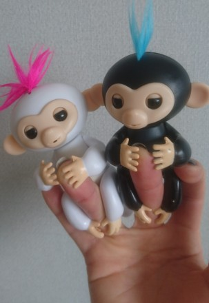 Акция!!! Интерактивная обезьянка на палец FINGERLINGS от производителя. Вышгород. фото 1