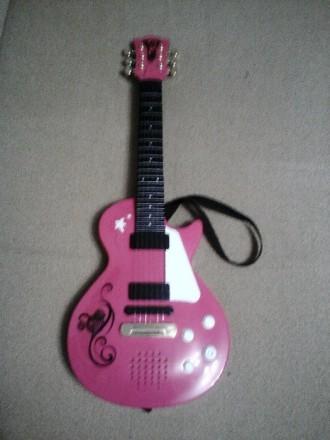 Рок гитара Simba розовая. Киев. фото 1