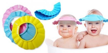 Шапочка-козырек для купания, на любой обьём головы. Дніпро. фото 1