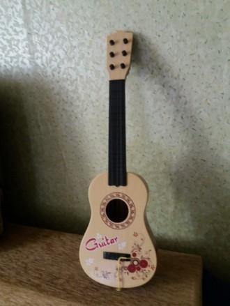 Продам детскую гитару (игрушка). Краматорск. фото 1
