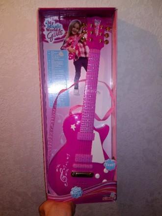 Детская Рок гитара Девичий стиль Simba. Каховка. фото 1