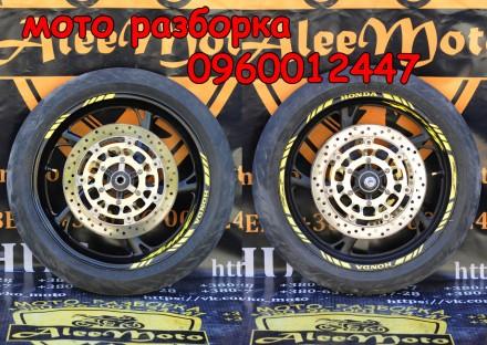 Колесо переднее honda hornet 600 хонда хорнет 600 колесо заднее колёса. Кременчуг. фото 1