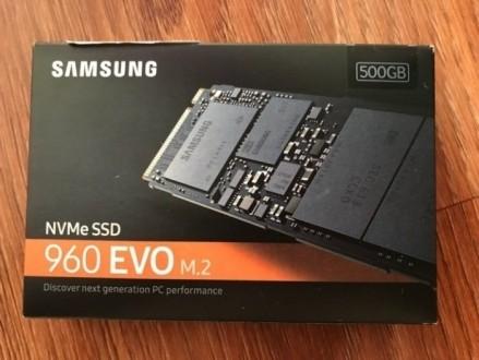Samsung 960 Evo series 500GB M.2 PCIe 3.0 x4. Краснодон. фото 1