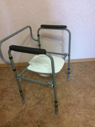 туалет для инвалидов и пожилых. Киев. фото 1