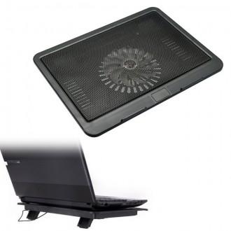 Охлаждающая подставка для ноутбука N191 - кулер. Киев. фото 1