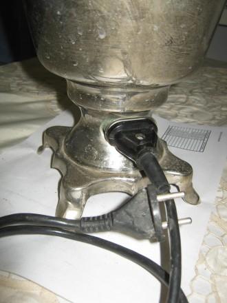 Электрический самовар времён распада СССР... Ёмкость 3 литра, эл.мощность 1 кВт. Лубны, Полтавская область. фото 7