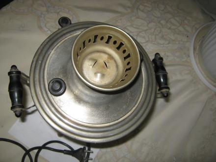 Электрический самовар времён распада СССР... Ёмкость 3 литра, эл.мощность 1 кВт. Лубны, Полтавская область. фото 8