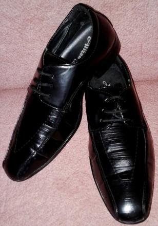 Туфли кожаные на мальчика размер 36. Сумы. фото 1