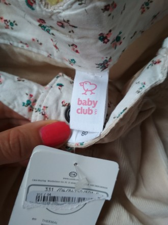 Вельветові штани baby club. Луцк. фото 1