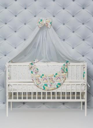 Постельное в кроватку малыша. Кременчуг. фото 1
