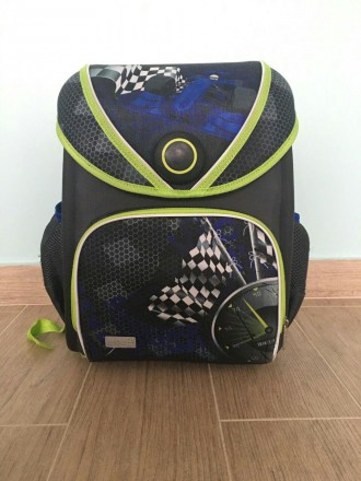 Рюкзак шкільний каркасний Kite 505 Grandprix. Львов. фото 1